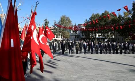 Tokat'ta 29 Ekim Cumhuriyet Bayramı törenle kutlandı