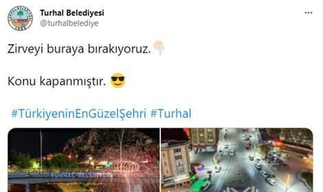 Turhal Belediyesi sosyal medyada popüler oldu