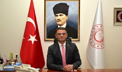 Vali Ozan Balcı'nın 29 Ekim Cumhuriyet Bayramı mesajı