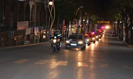 Tokat'ın Zile ilçesi'nde 23 Nisan konvoyu