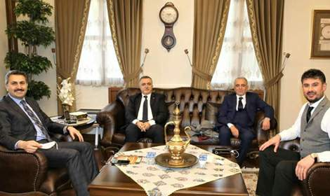 Akasya Ahşap'tan Başkan Çelik'e ziyaret