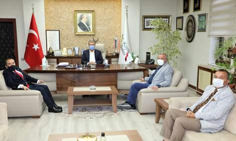 KAYEMA Başkanı Doğan'dan Başkan Akay'a ziyaret