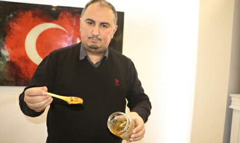 Talep patlaması yaşanan arı sütünün kilosu 10 bin lira