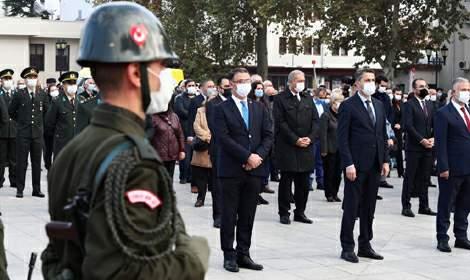 Mustafa Kemal Atatürk Ölümünün 82'inci Yılında Törenle Anıldı