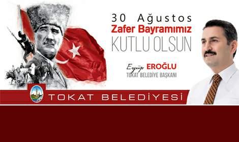 Başkan Eroğlu'nun 30 Ağustos Zafer Bayramı mesjı