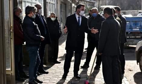 Başkan Bekler'den esnaf ziyareti