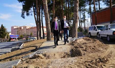 Başkan Karagöl, 'Çamlık Koru Park mayısta açılacak'