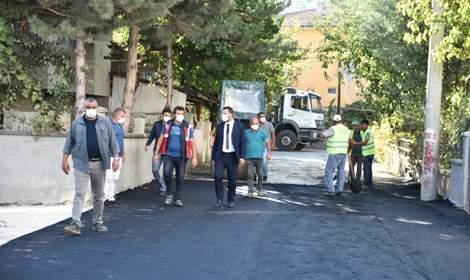 Başkan Bekler, 'Turhal'ın dört bir yanında çalışmaya devam edeceğiz'