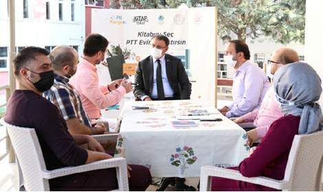 Tokat'ta 1 milyon kitap dağıtıldı