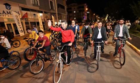 Tokat Belediyesi'nden çekilişli bisiklet turu