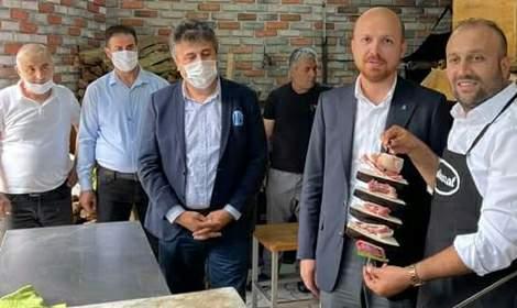 TÜGVA Yüksek İstişare Kurulu Üyesi Bilal Erdoğan, Şehrazat'ta