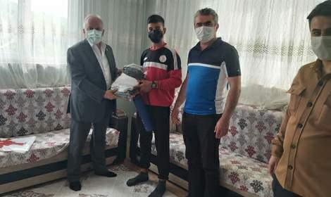Türkiye şampiyonuna moral ziyareti