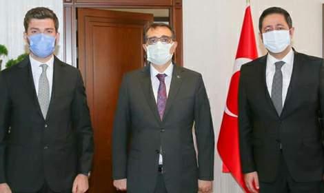Milletvekili Bulut, Bakan Dönmez'i ziyaret etti