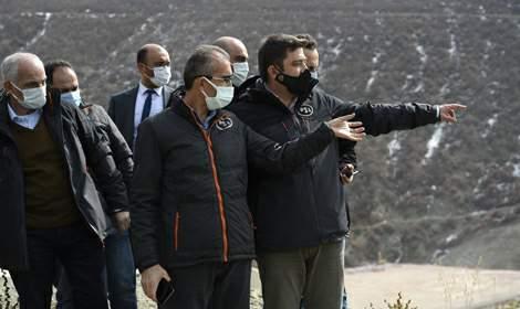 DSİ Genel Müdürü Yıldız, Tokat Turhal Barajı'nda