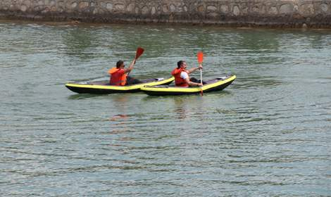 Erbaa'da kano etkinliği düzenlendi