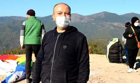Erbaa'da yamaç paraşütü etkinliği