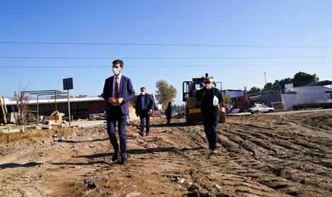 Erbaa Belediyesi, Küçük Sanayi Sitesi'nde çalışma başlattı