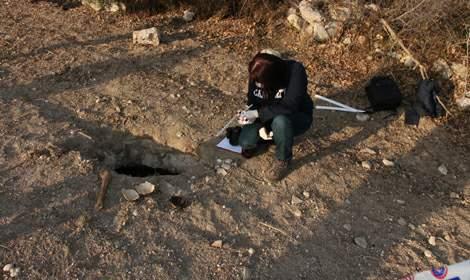 Erbaa'da Roma dönemine ait olduğu tahmin edilen toplu mezar bulundu