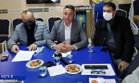 Erkan Er, 'Tokat Sigara Fabrikası'nın yeri ranta mı açılıyor?'