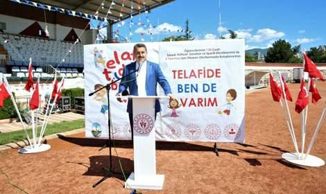 Başkan Eroğlu, 'Telefi'de biz de varız'