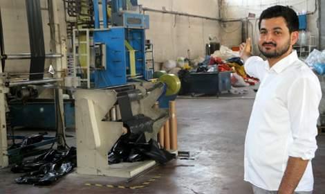 Tokat'ta 25 yaşında fabrika kurdu, siparişlere yetişemiyor