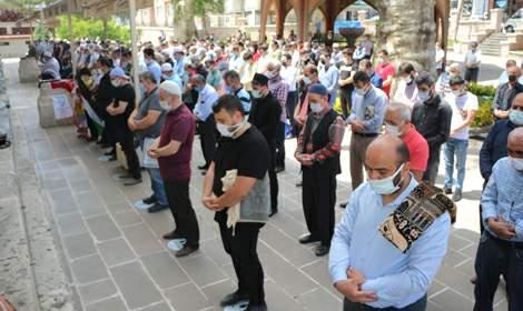 Tokat'ta Filistinliler için gıyabi cenaze namazı kılındı