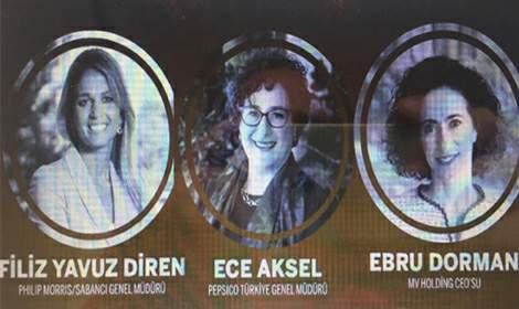 Türkiye'nin '50 En Güçlü Kadın CEO'su Filiz Yavuz Diren oldu
