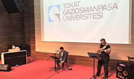 GOÜ'deki 'Saz Eserleri Konseri' İlgiyle İzlendi