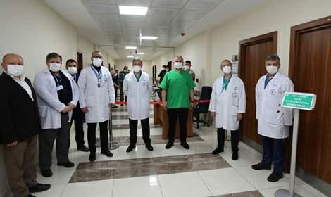 Tokat Gaziosmanpaşa Üniversitesi Hastanesi aşılandı
