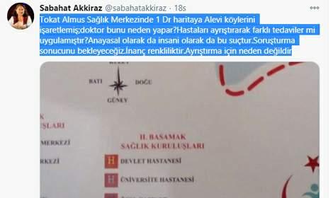 Tokat'ta, 'haritalı fişleme' iddiasıyla ilgili doktora soruşturma