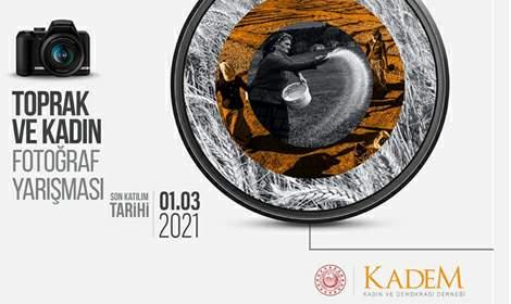 KADEM'in düzenlediği 'Toprak ve Kadın' konulu fotograf yarışması
