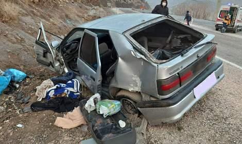 Tokat'ta kaza: 1 ölü, 4 yaralı