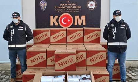 Zile'de Yasadışı Tütün Ticareti Yapan Şahıslara Ceza