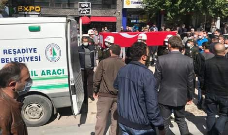 Kıbrıs gazisi Kemal Karaca, son yolculuğuna uğurlandı