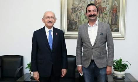 Başkan Güven Arslan, Kemal Kılıçdaroğlu ile bir araya geldi