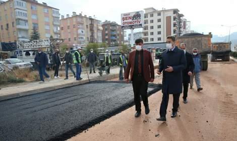 Başkan Eroğlu; 'Şehrimizi kış aylarına hazırlıyoruz'