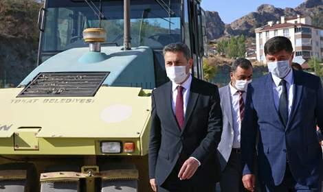Başkan Eroğlu, 'Konforlu ve güvenli yollar için çalışıyoruz'