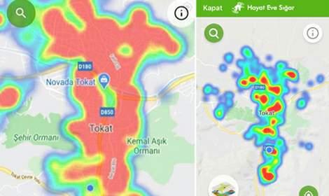 Tokat'ta koronavirüs risk haritası, yeşile dönüyor