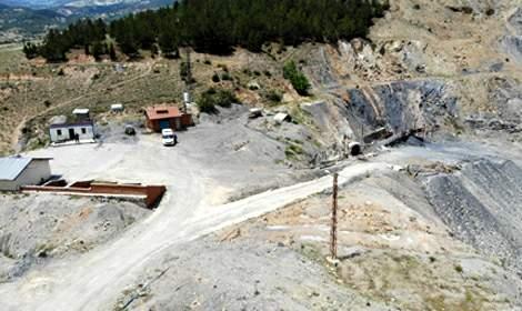 Tokat'ta maden ocağında göçük: 1 ölü