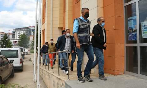 Tokat'ta maden ocağında göçük: 7 kişi adliyeye sevk edildi