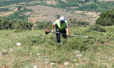 Mercimek Tepesi, yamaç paraşütü uçuşları için hazırlanıyor