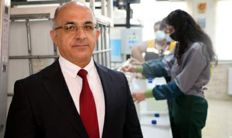 Meslek lisesinden pandemi döneminde 3 milyon TL ciro