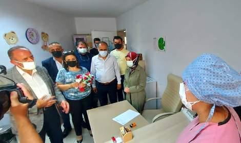 MHP Merkez İlçe'den 'Aşını ol' kampanyası