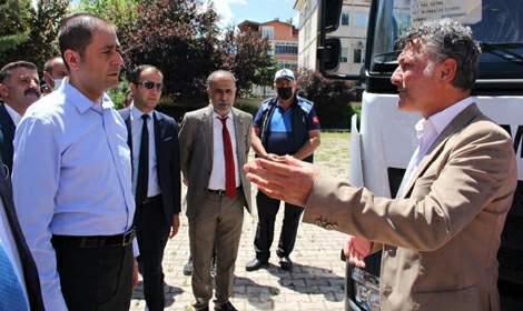 MHP heyeti Almus'ta incelemelerde bulundu