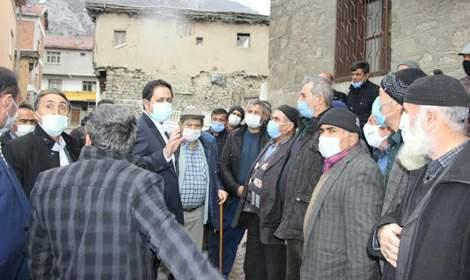 MHP Milletvekili Yücel Bulut Çat Kasabası'nda