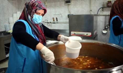 Tokat'ta müftülük yemekhanesi aşevine dönüştü