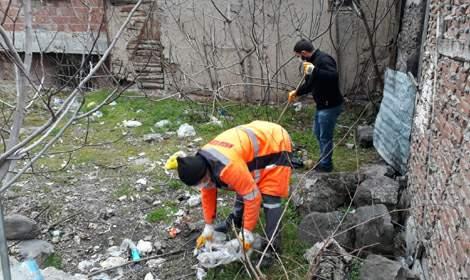 Niksar Belediyesi'nden titiz temizlik çalışması
