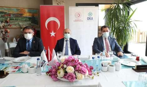 Vali Balcı, OKA Temmuz ayı toplantısına katıldı