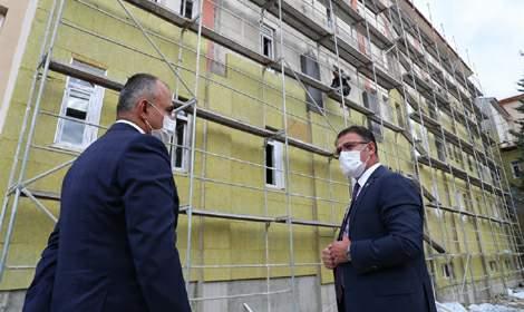 Tokat'ta yeni okul yapımları ve güçlendirme çalışmalarına devam