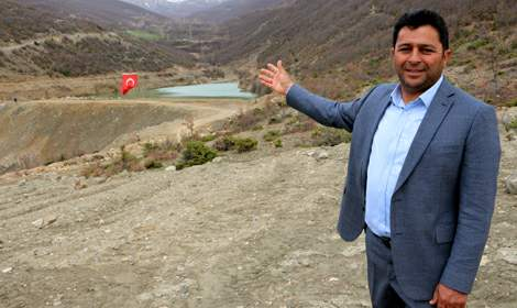 Ömrünü tamamlayan gölet 1,5 milyon liraya 14 ayda yenilendi